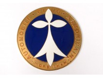 Plate of grille Badge insignia Club Automobile Armoricain Morbihan XXème