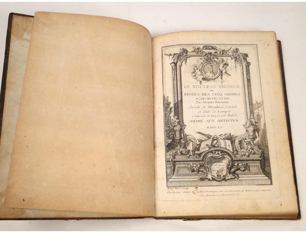 Livre Ancien Nouveau Vignoble Jacques Barozzio 1755