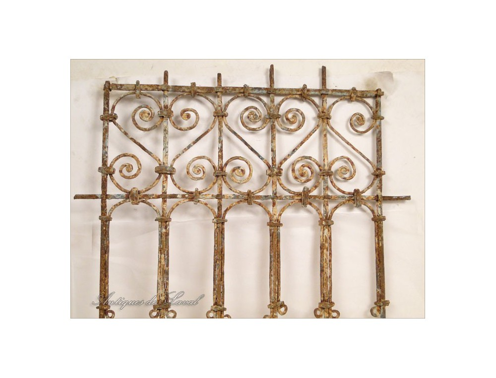 Window Grille Moroccan Wrought Iron And Painted Wood