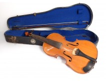 Violin whole bow Francicus Gobetti Venitus Venice 1708 violin 19th